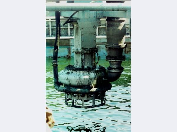 Погружные насосы для перекачки вязких, водогрунтовых сред