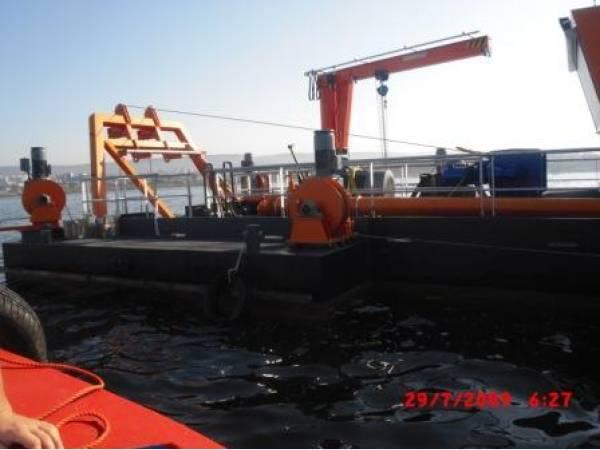 земснаряды EUREKA BV с производительностью до 800 тонн грунта в час