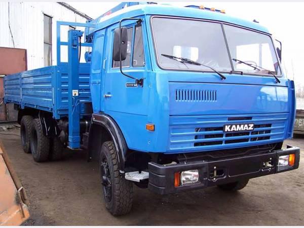 КамАЗ 53212 борт с капремонта с манипулятором Тадано г/п 3т.