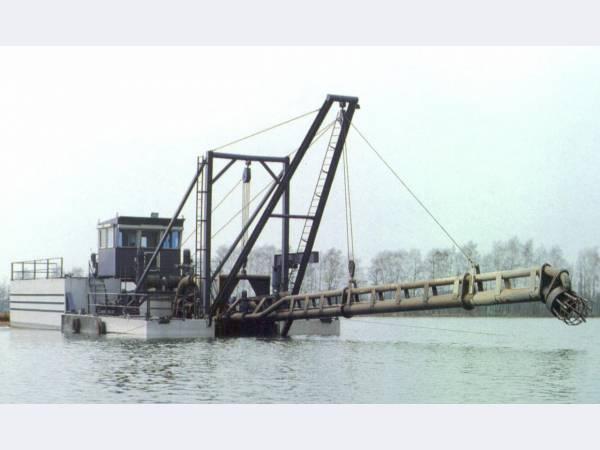 земснаряды EURIKA BV с производительностью до 800 тонн грунта в час