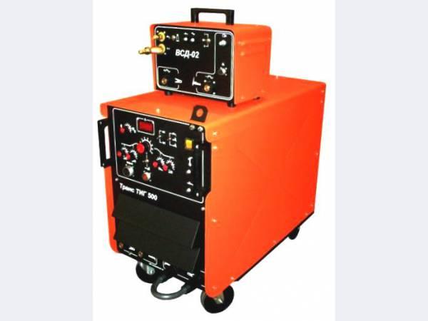 Установка аргоно-дуговой сварки ТРАНС ТИГ-500 AC/DC