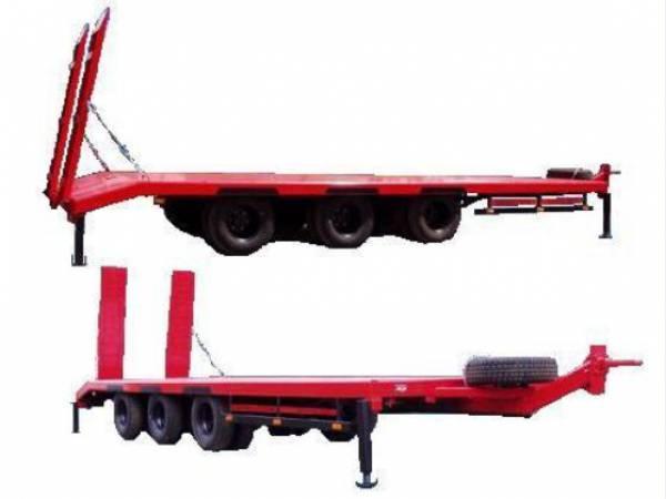Прицеп для перевозки техники до 12 тонн изготовление прицепов