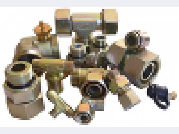 резьбовые трубные адаптеры-переходники для гидравлических систем