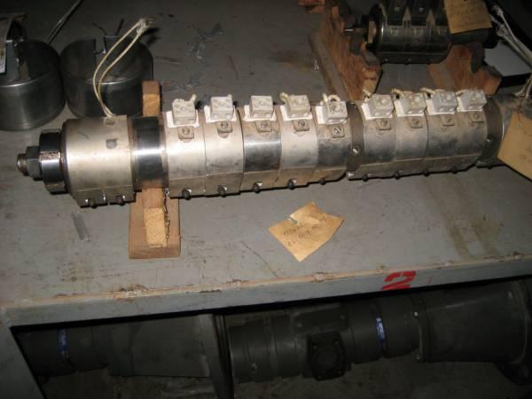 Цилиндры, шнеки, нагреватели для термопластавтоматов KuASY