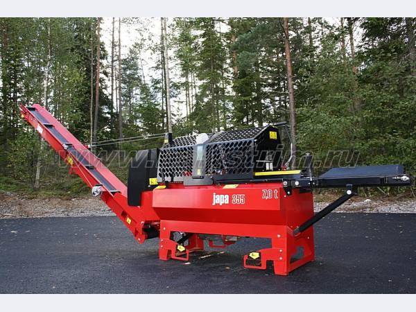 Дровоколы Japa (Финляндия) всё для производства дров.