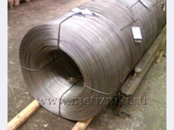 Перематываем проволоку из бухт 200-1000 кг в мотки по 10-50 кг