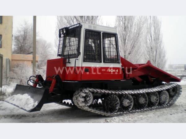 Лесозаготовительная техника: трелевочный трактор ТТ-4