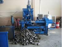 Пресс брикетировочный для металлической стружки BP 105.