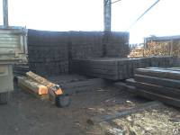 Деревянные пропитанные шпалы тип 2