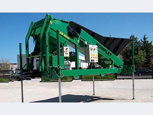 Мобильная дробильная установка LEM TRACK 60-40 Италия
