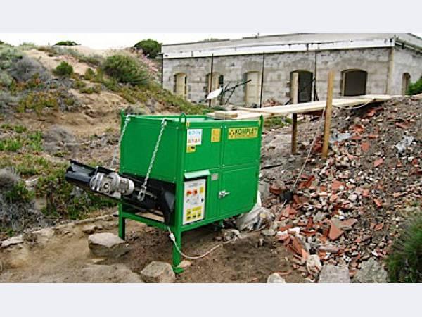 Дробилка Италия для получения щебня из строительных отходов