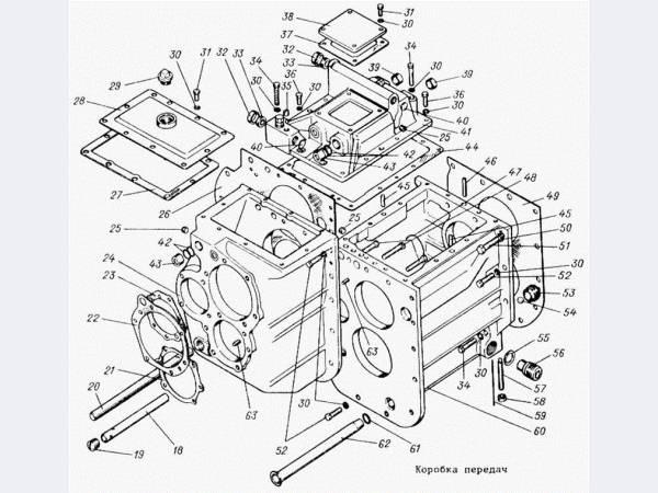 Продаю запчасти на коробку передач трактора ТТ-4М
