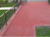 Тротуарная плитка «Брусчатка-кирпич» и мощение