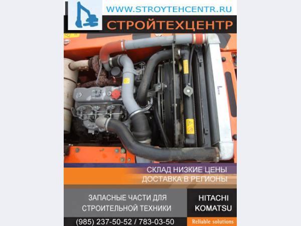 Двигатели ISUZU 4HK-1, 6HK-1 б/у экскаваторов HITACHI JCB CASE