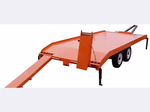 Прицеп автомобильный для перевозки спецтехники  9835-23-1
