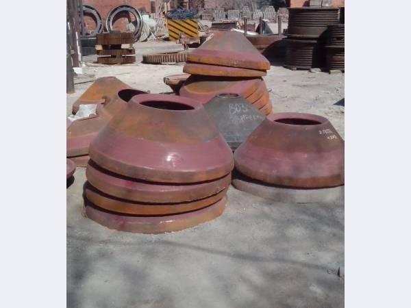 Броня конуса на конусные дробилки КМД-1200, КСД-1200
