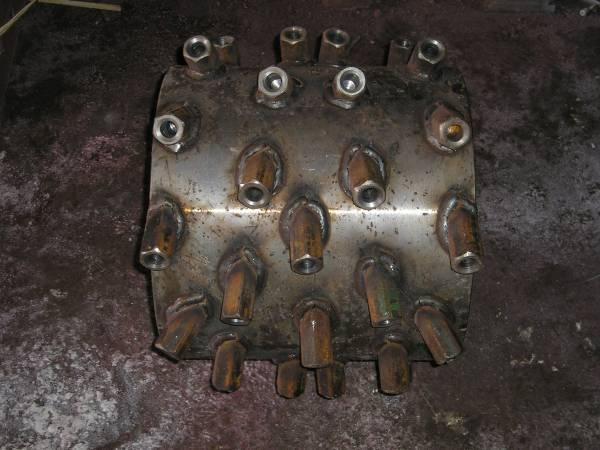 Запасные части на фрезы ЕМ-400/600/1000