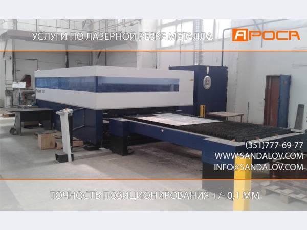 услуги по лазерной резке металла в Челябинске цена