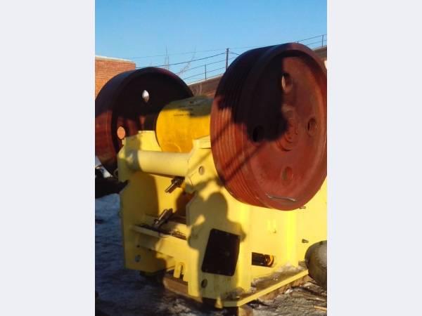 Щековая дробилка СМД110А производство продажа по цене завода