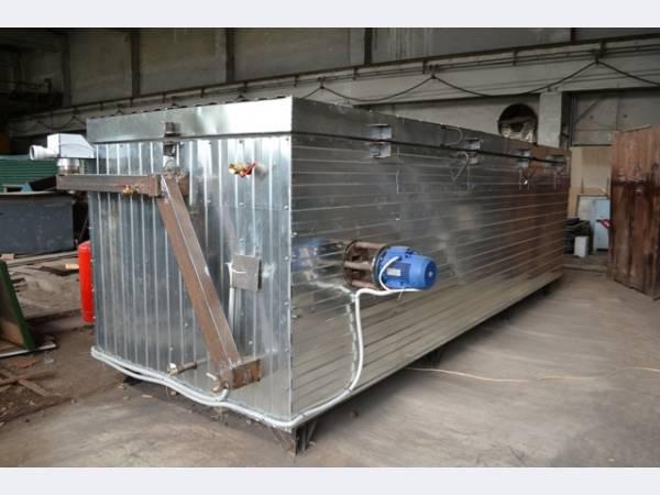 Оборудование  для термообработки древесины-камера 5 куб.м - 1,65 млн.р