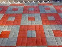 Тротуарная плитка Английский булыжник (вибролитьевая)