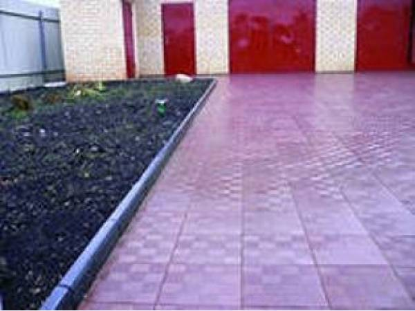Тротуарная плитка Квадрат 350х350х50  (вибролитьевая)