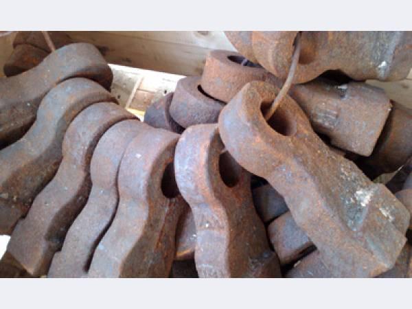 Молотки для дробилок, молотки молотковой дробилки