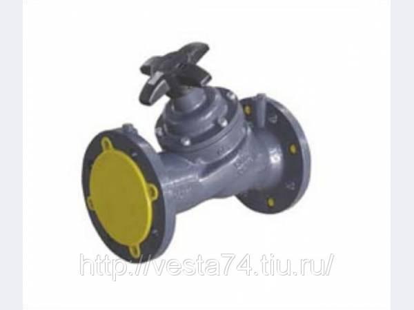 Ручной фланцевый балансировочный клапан kv=26 DN40 Cimberio