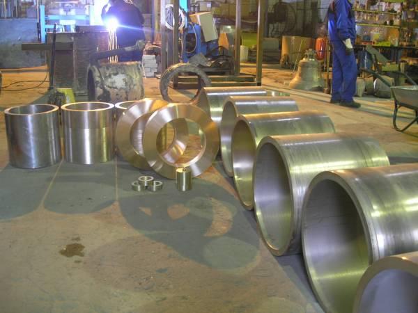 Производство бронзовых деталей и заготовок.