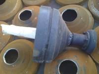 Запасные части на конусные дробилки КСД-600