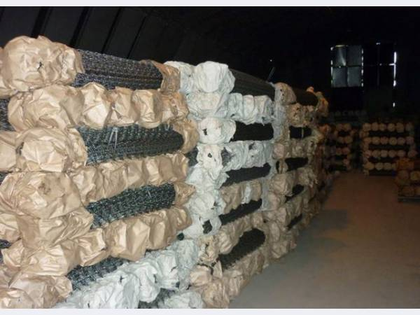 Сетка плетеная рабица оцинкованная ГОСТ 5336-82.