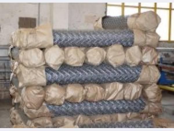 Рабица сетка плетеная ГОСТ 5336-80 оцинкованная