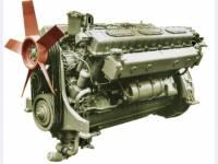 Дизельный двигатель электростанций 200 кВт 1Д12В-300КС2-01