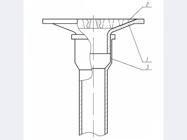 Воронка водосточная с решеткой ВР-50 (Дренажное устройство ДУ-50)