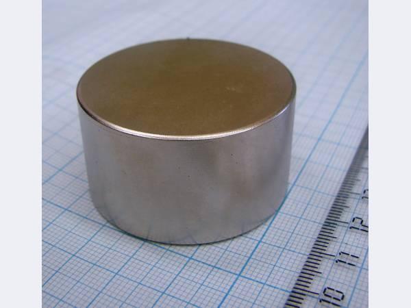 неодимовый магнит 45х25