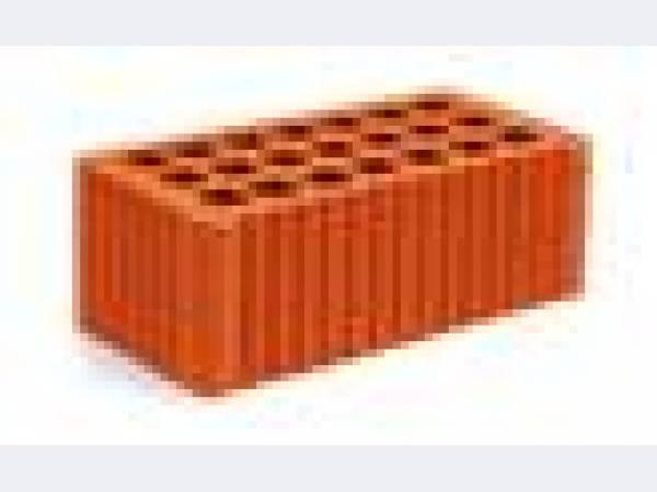 Кирпич строительный керамический рифлёный