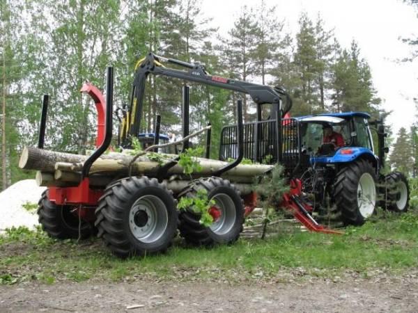 Трелевочные тележки Farmi Forest (Финляндия) – европейский способ лесо