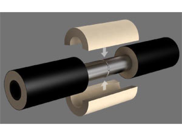Теплоизоляция для труб. Скорлупы ППУ, своё производство, удивительные