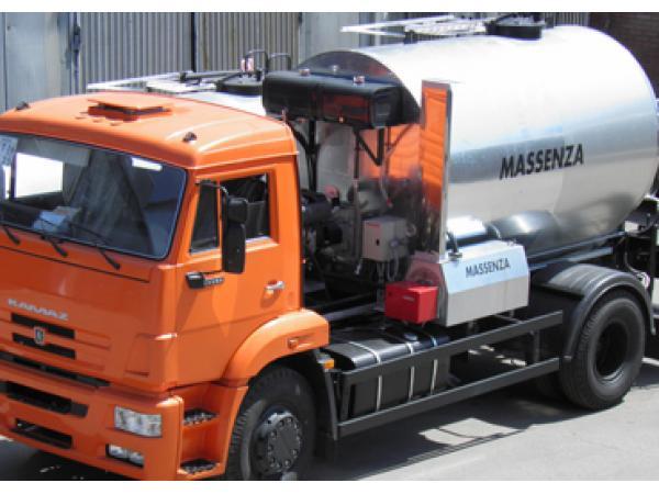 Автогудронатор 6000 л на базе шасси камаз 43253