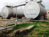 Большие емкости металлические, резервуары б/у РГС 75