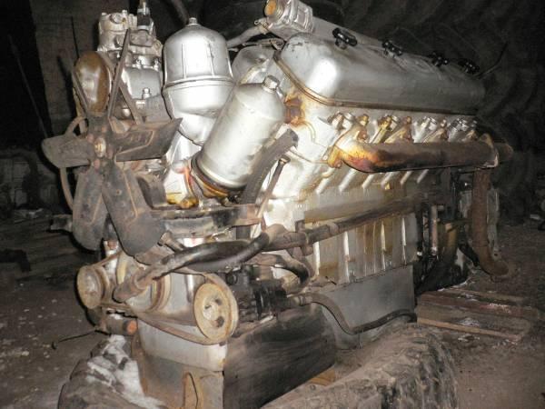 Двигатель ЯМЗ-238М2 (240 л.с, военный, 1-ой комплектности).