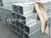 Трубы квадратные нержавеющие матовые AISI 304-со склада в Подольске