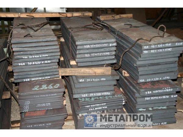 Полоса инструментальных, конструкционных, быстрорежущих марок сталей