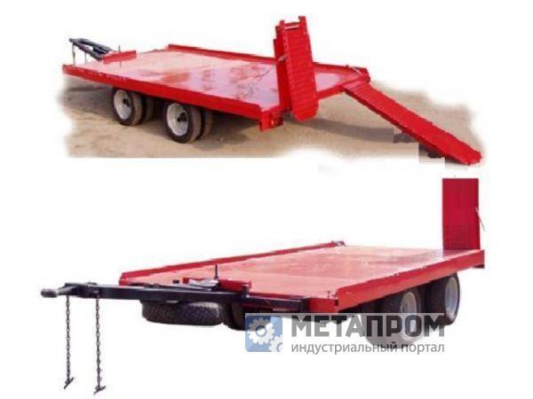 Прицеп автомобильный для перевозки спецтехники 9835-30