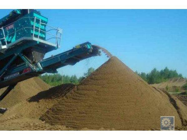 Песок кладочный, отделочный, пгс, щебень