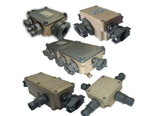 коробки КП 6, КП 12, КП24, КП 48 взрывозащищённые