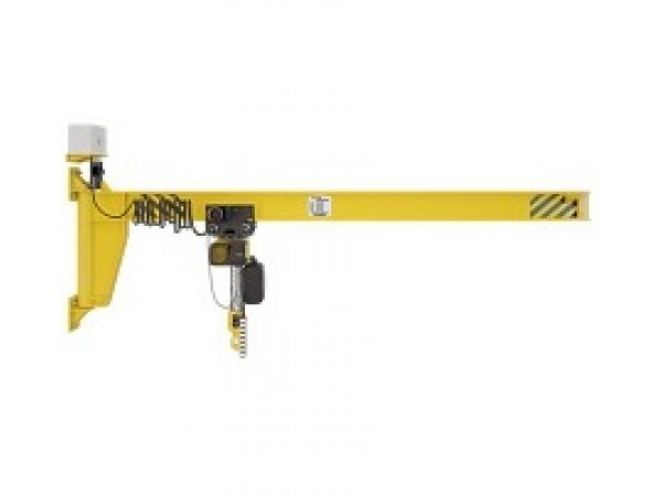 Кран консольный настенный с ручным/механическим поворотом консоли