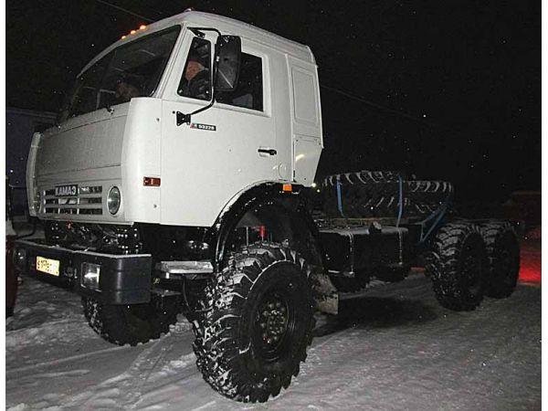 КамАЗ 44108 тягач вездеход 6х6 с капремонта, двиг ЯМЗ-238.