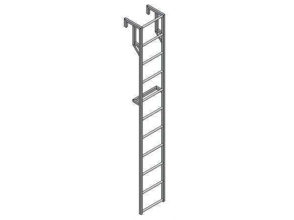 Лестница навесная для полувагона