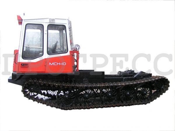 Шасси трелевочного трактора МСН-10 (ТТ-4М)